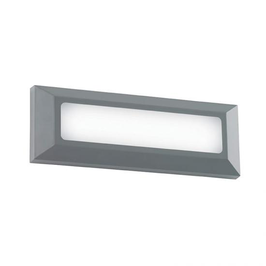 19123-001 LED Grey Surface Brick Light