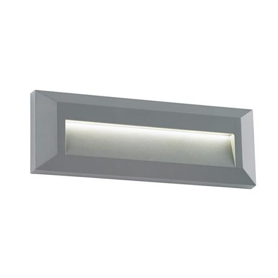 19124-001 LED Grey Downlight Surface Brick Light
