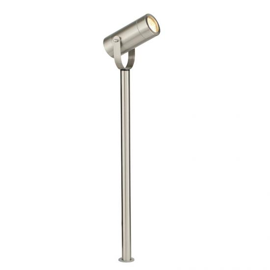 21736-001 Outdoor Brushed Stainless Steel Big Spike Spost