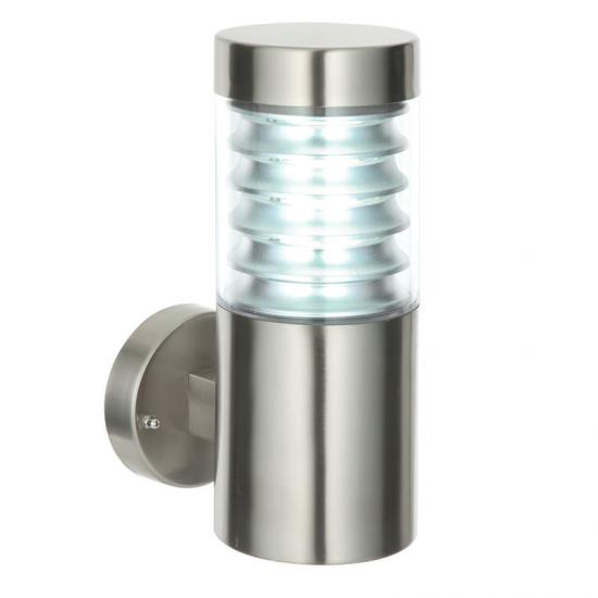 22048-001 Marine Grade Brushed Stainless Steel Wall Lamp