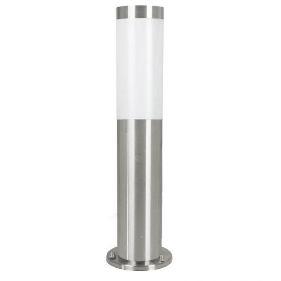 3278-002 Stainless Steel with White Diffuser Small Bollard