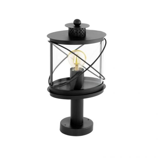 40826-002 Outdoor Black & Clear Small Post