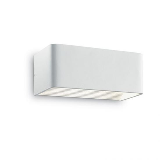 23072-007 LED White Rectangle Up & Down Wall Lamp