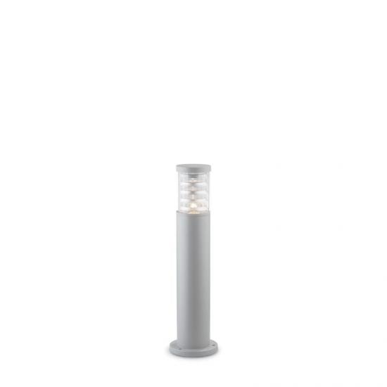 10801-007 Outdoor Grey with Glass Small Bollard