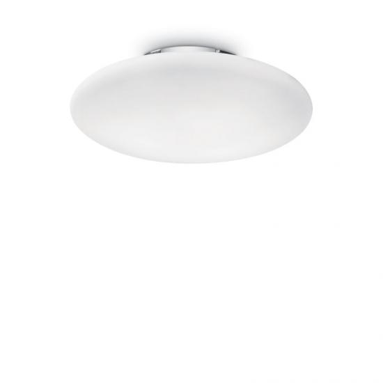 10663-007 Round Frosted Glass 3 Light Ceiling Lamp ∅ 60