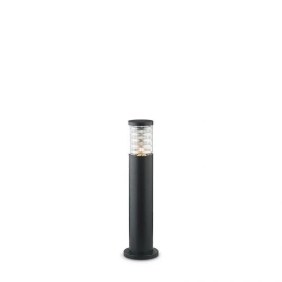 10802-007 Outdoor Black with Glass Small Bollard