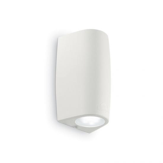 912706-007 Outdoor White Up&Down Wall Lamp