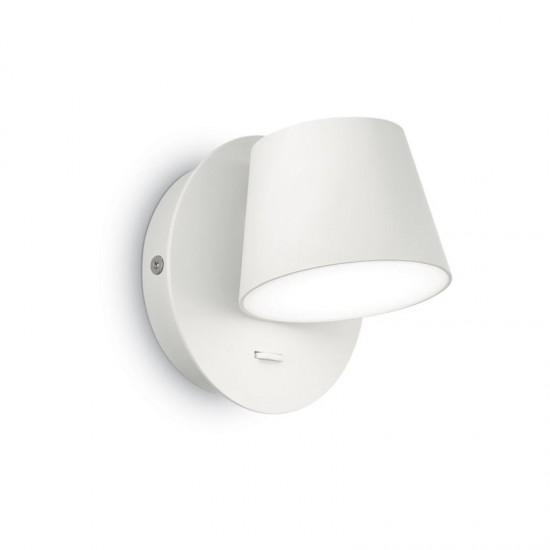 44062-007 LED Round White Aluminium Wall Light