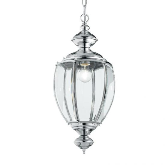 23249-007 Chrome Lantern Hanging Pendant