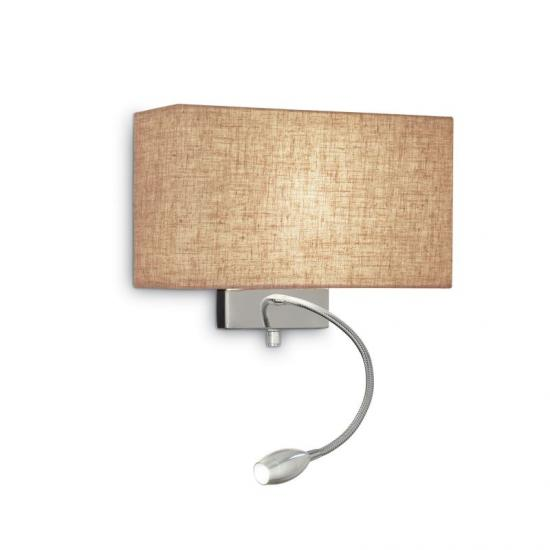 37256-007 Beige Fabric Mother & Child LED Wall Lamp