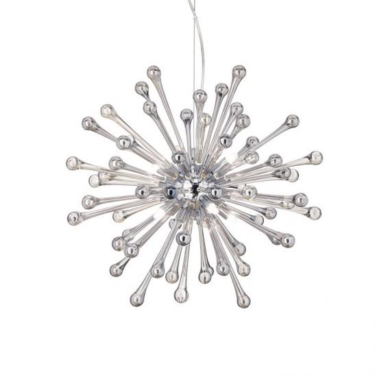 37389-007 Decorative Glass 8 Light Hanging Pendant