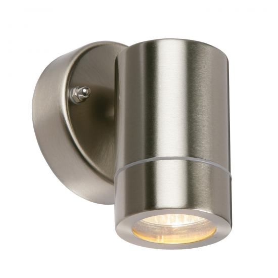 21739-001 Brushed Stainless Steel Downlight Wall Lamp