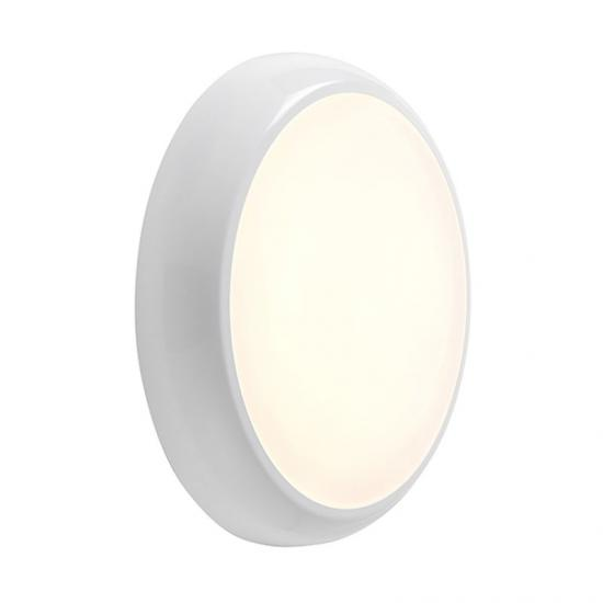 22024-001 LED IP65 Gloss White Flush with Colour Changing