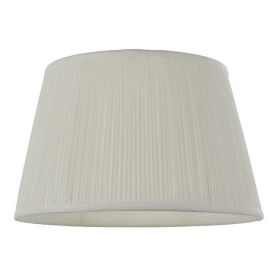 59220-001 Shade Only - 12 inch Vintage White Shade