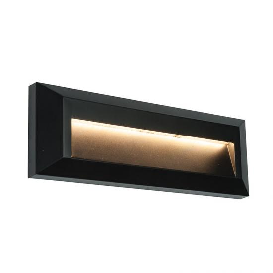 31762-001 LED Black Downlight Surface Brick Light