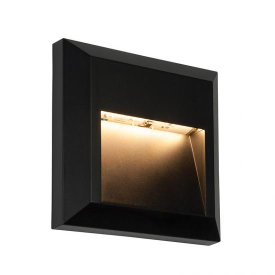 31765-001 LED Black Surface Downlight Square Brick Light
