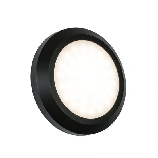 31766-001 LED Black Surface Round Brick Light