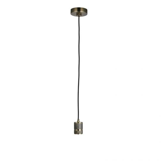 50941-001 Antique Brass Suspension E27