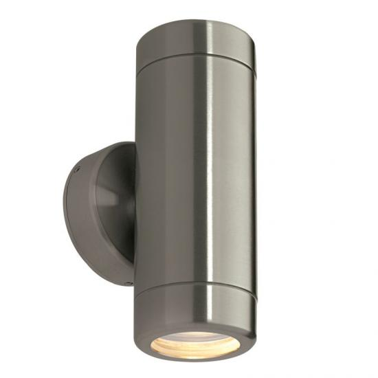22440-001 Brushed Stainless Steel Up&Down Wall Lamp