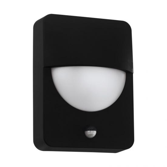 59371-002 Outdoor Black & White PIR Wall Lamp