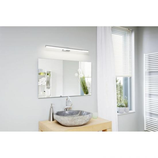 20685-002 Bathroom LED White and Chrome over Mirror Big Wall Lamp
