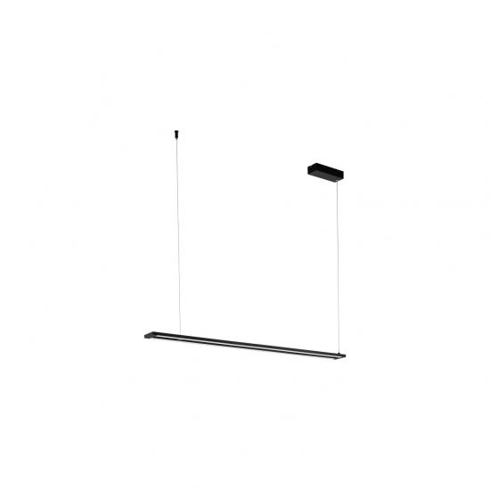 58430-002 LED White & Black Linear Pendant