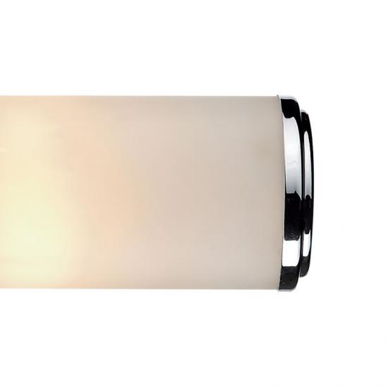 4299-003 Bathroom Frosted Glass and Chrome Double Wall Lamp