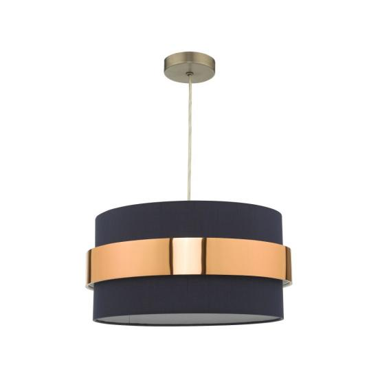 61785-004 Navy & Copper Shade for Pendant