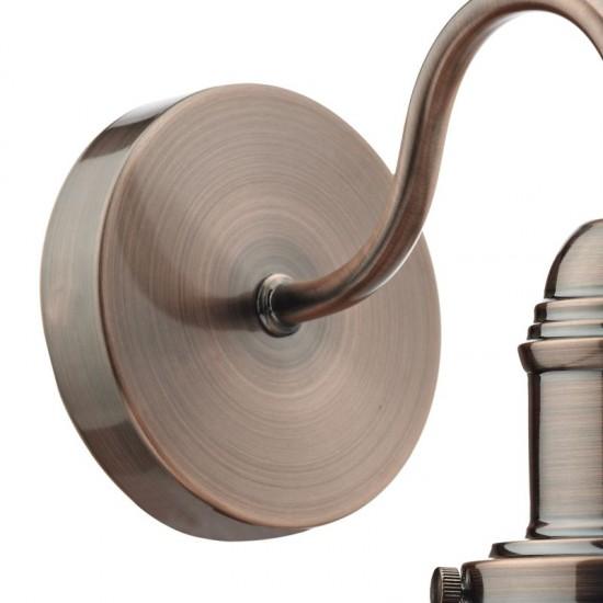32387-003 Copper Fisherman's Wall Lamp