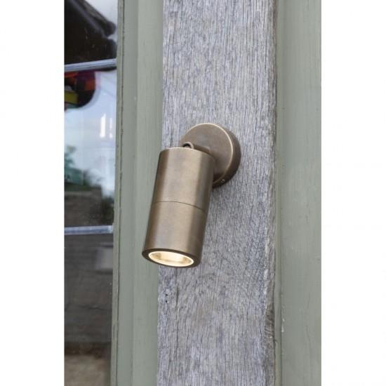 59068-003 Outdoor Antique Brass Adjustable Single Spot Lights