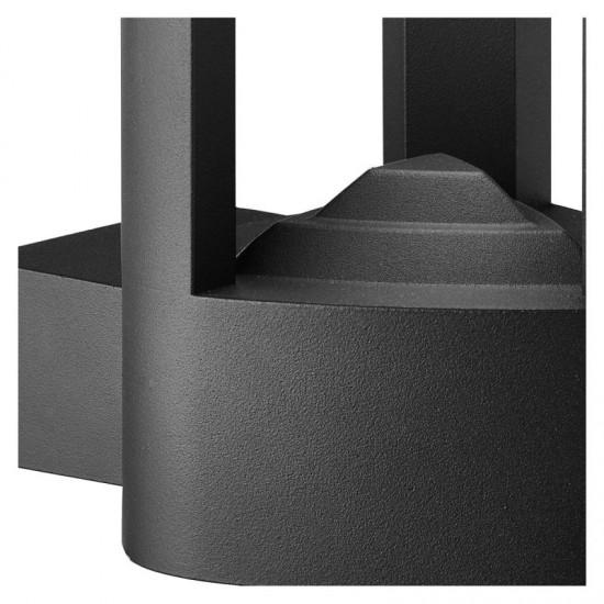 32837-006 Outdoor LED Dark Grey Wall Lamp