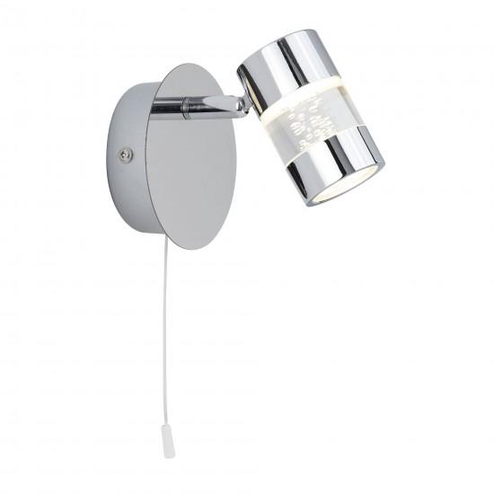 8930-006 Bathroom LED Chrome with Bubble Effect Spot Lights