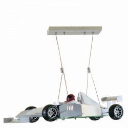 9625-006 RACING CAR GLASS PENDANT