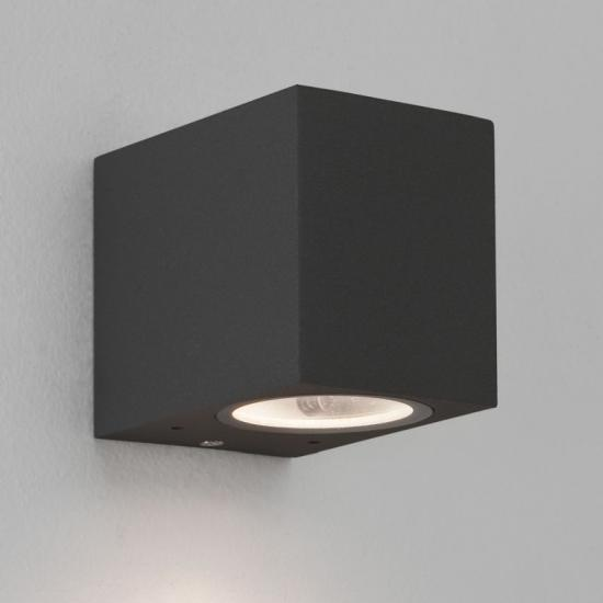 18763-021 Outdoor Textured Black Wall Lamp