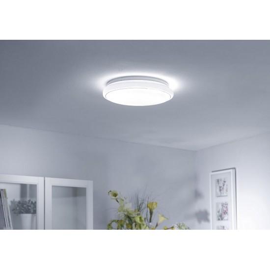33826-026 44cm flush ceiling light sparkling sky look