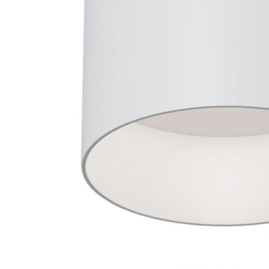 54138-045 Surface-Mounted White Cylindrical Spotlight