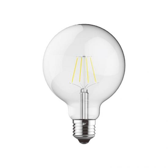 E27 Dimmable Clear Small Globe Bulb 6.5W